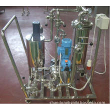Candle type diatomite filter
