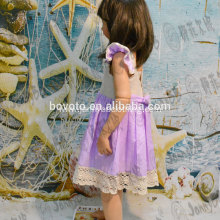 summer cotton hand embroideried girls dress