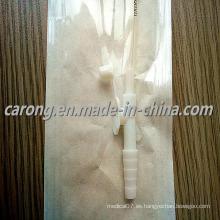 Tubo de catéter de succión estéril desechable médico