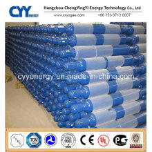 Cylindre de gaz à CO2 à combustion haute pression avec ASME ISO