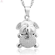 Gros 925 bijoux en argent Sterling pendentif animaux