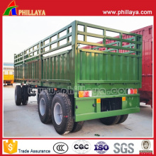 Cargo Drawbar Trailer/Full Trailer / Fence Trailer for Sale