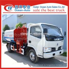 Condición Nueva y Tipo de Combustible Diesel camión de basura hidráulico con elevador de basura