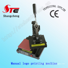 T-Shirt Logo Heat Transfer Machine Manual Logo Heat Press Machine Mark Printing Machine Stc-Tb01