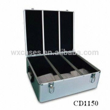 high quality&strong 600 CD disks aluminum CD case wholesales