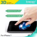 Newest!!!carbon fiber tempered glass 3D full cover tempered glass for Iphone7/7plus