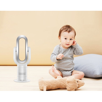 Sócio inteligente do bebê ventilador elétrico de oscilação do calefator da tabela de 10 polegadas