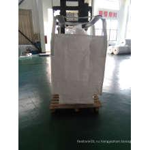 Белая чистая сумка для упаковки Pet и Pta