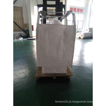 Transporte de pó de cádmio em bolsas FIBC