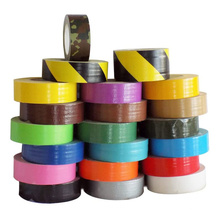 Fita adesiva para duto de tecido para impressão pesada e personalizada com design de logotipo colorido