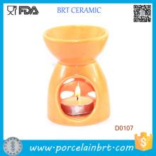 Aromaterapia esencial vela ligera aceite quemador