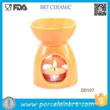 Queimador de óleo de luz de vela essencial de aromaterapia