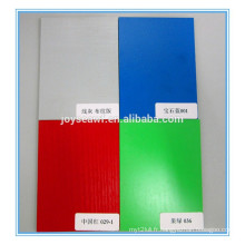 Différentes couleurs MDF en mélamine face, mdf, tableau hdf