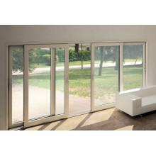 Heat Insulated Thermal Break Aluminium Stacking Sliding Door