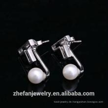Schmuck 2 Gramm Gold schön gestaltete Ohrringe
