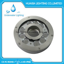 316 Stainless Steel Fountain Swimming LED Light for 100% Waterproof