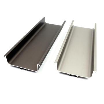 Aluminium Gola Profile For Kitchen Handle Various Colors