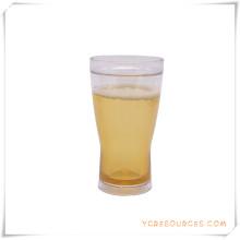 Tasse de bière glacée à double paroi Tasse de bière glacée congelée pour cadeaux promotionnels (HA09083-2)