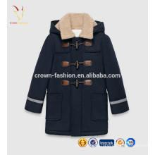 2016 Otoño Invierno Niños Cardigan Cashmere Children Coat