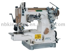JT999-01TL High-Speed Small Flat Bed Stretch Sewing Machine With Back Tow Wheel