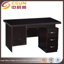 Foshan Lecong Fabrik Großhandel 1,4 Meter Melamin billig gebrauchten Computer Schreibtisch zum Verkauf
