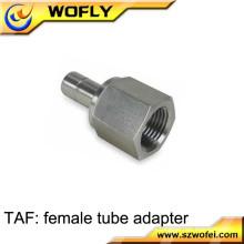 BSP NPT tubo de aire de compresión de gas racor de tubería hidráulica