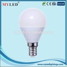 Ningbo Lampe führte Birnen-Beleuchtung E14 / E27 5W preiswerter Preis führte Punkt-Licht mit CER / ROHS