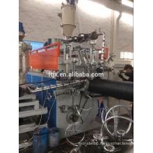 PE steel corrugator pipe production line