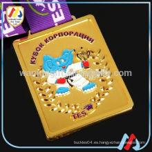 Diseño libre esmalte ruso medalla