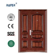 Дешевые стальные двери для рынка Африки (РА-S162)