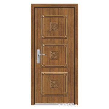 Solid Composite Wood Door (YFM-8001)
