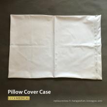 Taie d'oreiller médicale couvre PVC plastique