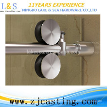 Stainless steel shower glass door hardware / shower clamp