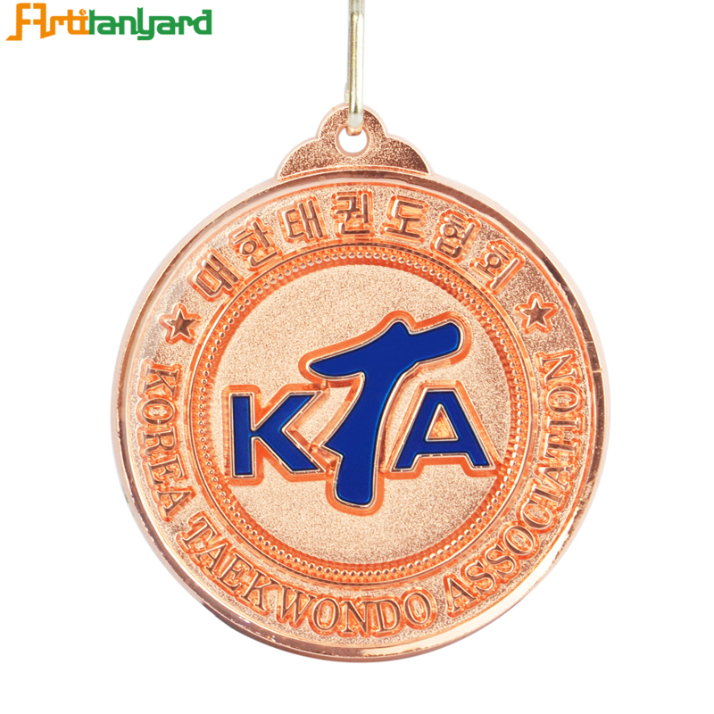 Metal Detector Medals With Soft Enamel