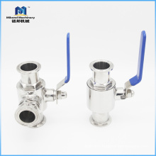 Promotional Prices Tri-Clamp stainless steel 316 1000 wog ball valve