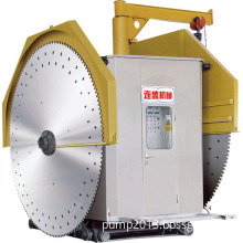 Double Blade Granite&Marble Quarry Stone Sawing Mining Machines