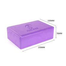 Yugland yoga block foam brick printed for Pilates accessories exercise