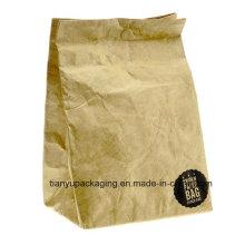 Коричневый мешок обеда бумаги