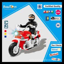 Bateria halley brinquedo de poder de fricção com o homem miúdos mini moto elétrica