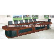 Mesa de conferencia larga de la oficina para la venta, solución modificada para requisitos particulares de los muebles de oficina (D-883)