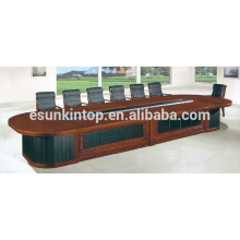 Mesa de conferência de escritório longo para venda, Solução de mobiliário de escritório personalizado (D-883)