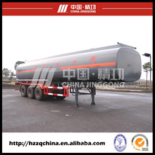 LNG Tank Trailer 56000L for Liquid Tank Truck, Cryogenic LNG Tank Semi-Trailer for Sale