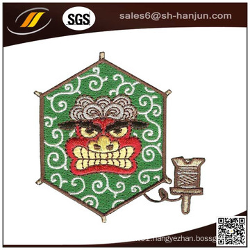 High Quality Plain Backing Full Embroidery Patch