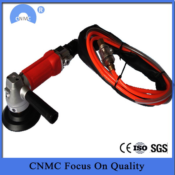 Portable Rear Exhaust Air Wet Polisher
