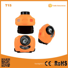 T15 Handsfree Switch Outdoor 3PC AAA Battery Head Lamp Multi-Function LED Sensor Sensor Control Headlamp$