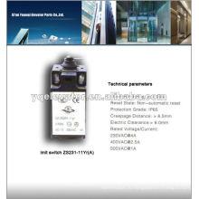 Обычный концевой выключатель лифта ZS231