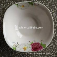 квадратная керамическая чаша фабрики Китая