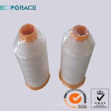 Ecograce Bolsa de filtro de alta temperatura Hilo de coser PTFE Hilo de coser