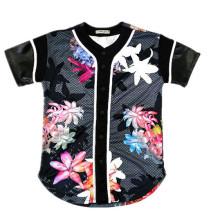 Nueva malla de retroceso de diseño personalizado de béisbol Jersey de béisbol al por mayor