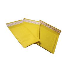 """Embalagem de transporte correio saco de segurança 5 """"* 9"""" kraft amarelo bolha acolchoada mailer"""